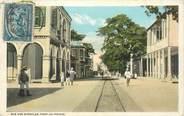 "Antille CPA HAITI ""Port au Prince, Rue des Miracles"""