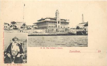 """CPA TANZANIE / ZANZIBAR """"Le Sultan et le Palais"""""""