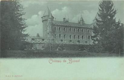 """CPA FRANCE 03 """"Chateau de Busset"""" / Collection Bleu à la lune"""