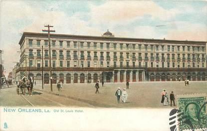 """CPA USA """"Nouvelle Orléans, Hotel Saint Louis"""""""