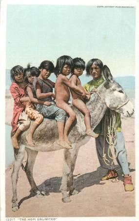 """CPA AMERIQUE """"Indien tribu amérindienne d'Amérique du NORD, Hopi"""""""