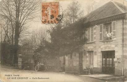 """CPA FRANCE 03 """"Le Gué Chervet, Café restaurant"""""""