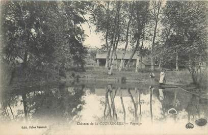 """CPA FRANCE 28 """"Chateau de la Courangère"""""""