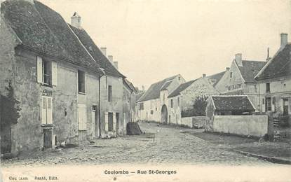 "CPA FRANCE 28 ""Coulombs, rue Saint Georges"""