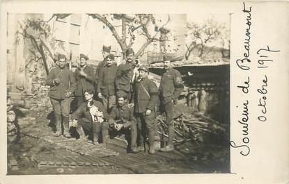 """CARTE PHOTO FRANCE 63 """"Beaumont, 1917"""""""
