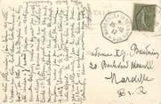 """Marcophilie (Lettre Et Cartes) MARCOPHILIE POSTE MARITIME sur CPA CHINE """"Pékin, le marché aux fleurs"""""""