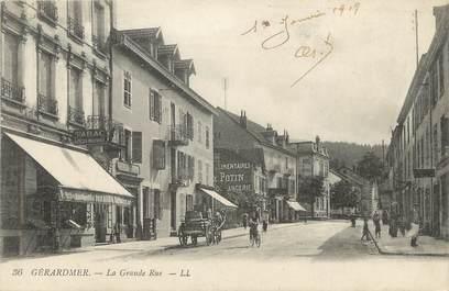 """/ CPA FRANCE 88 """"Gerardmer, la grande rue"""""""