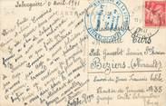"""Marcophilie (Lettre Et Cartes) MARCOPHILIE 2 EME GUERRE sur CPA FRANCE 81 """"Labruguière"""""""