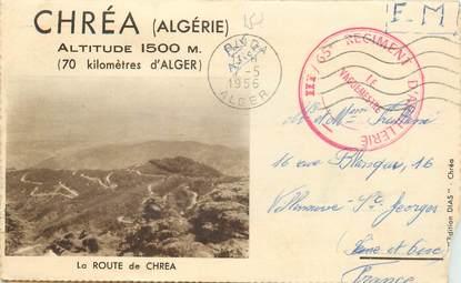 MARCOPHILIE GUERRE D'ALGERIE sur Carte lettre
