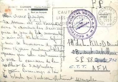 MARCOPHILIE GUERRE D'ALGERIE sur CPSM