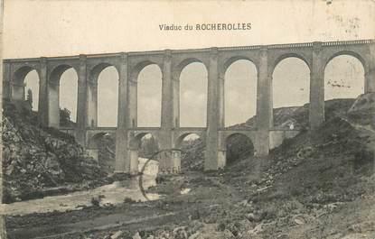 "CPA FRANCE 87 ""Viaduc de Rocherolles"""