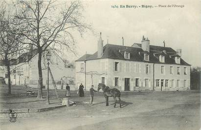 "CPA FRANCE 18 ""Bigny, Place de l'Orange"""