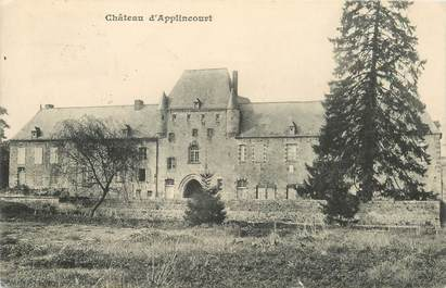 "CPA FRANCE 02 ""Chateau d'Applincourt"""
