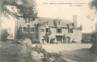 """CPA FRANCE 29 """"Manoir de Pen an Rue"""""""