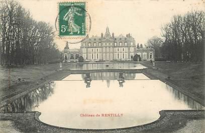 "CPA FRANCE 77 ""Chateau de Rentilly"""