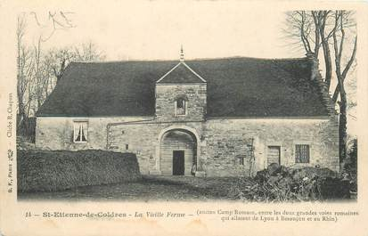 "CPA FRANCE 39 ""Saint Etienne de Coldres, la vieille ferme"""