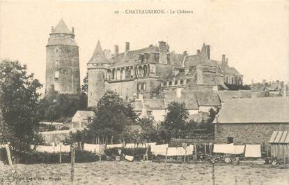 "CPA FRANCE 35 ""Chateaugiron, le chateau"""