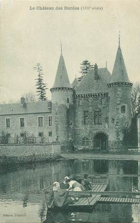 """CPA FRANCE 58 """"Chateau des Bordes"""""""