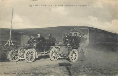 """CPA FRANCE 88 """"Ballon d'Alsace"""" / AUTOMOBILE"""