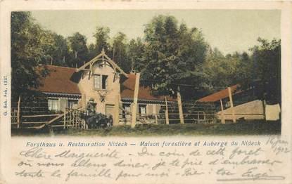 """CPA FRANCE 67 """"Maison forestière et auberge de Nideck"""""""