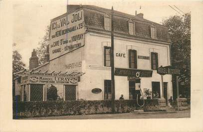"CPA FRANCE 37 ""Vouvray, Hotel restaurant"""