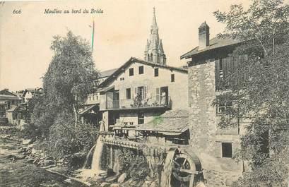 """CPA FRANCE 38 """"Moulins au bord du Bréda"""""""