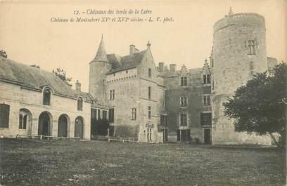 """CPA FRANCE 49 """"Chateau de Montsabert"""""""