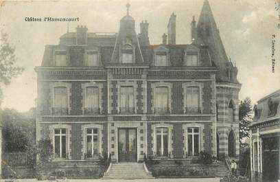 """CPA FRANCE 80 """"Chateau d'Hamencourt"""""""