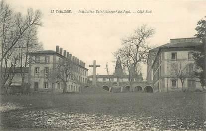 """CPA FRANCE 01 """"La Saulsaie, institution Saint Vincent de Paul"""""""