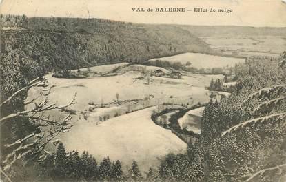 """CPA FRANCE 39 """"Val de Balerne"""""""
