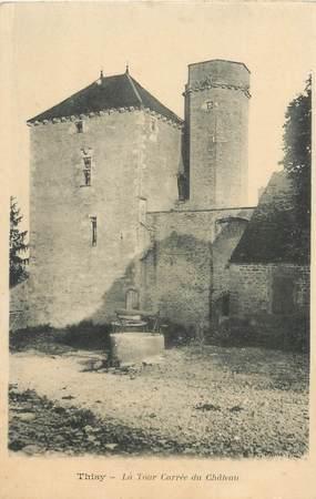 """CPA FRANCE 89 """"Thisy, la Tour carrée du chateau"""""""