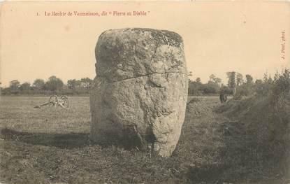 """CPA FRANCE 50 """"Menhir de Vaumoisson"""""""