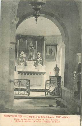 "CPA FRANCE 51 ""Monthelon, chapelle de Sainte Chantal"""