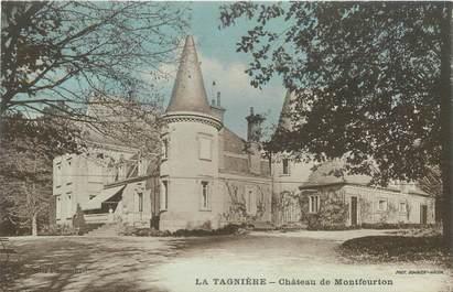 """CPA FRANCE 71 """"La Tagnière, chateau de Montfeurton"""""""