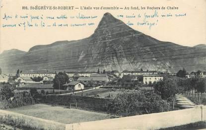 "CPA FRANCE 38 ""Saint Egrève Saint Robert"""