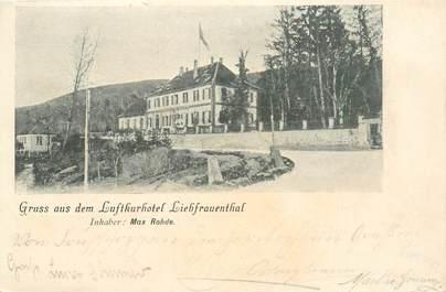 """CPA FRANCE 67 """"luftkurhotel Liebfrauenthal"""""""