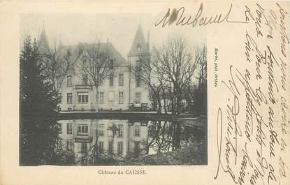 """CPA FRANCE 34 """"Chateau de Causse"""""""
