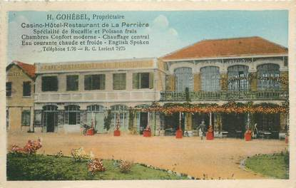 "CPA FRANCE 61 ""La Perrière, Casino Hotel Restaurant"""