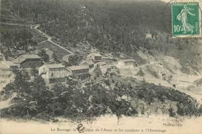 """CPA FRANCE 89 """"Barrage de l'Hermitage"""""""