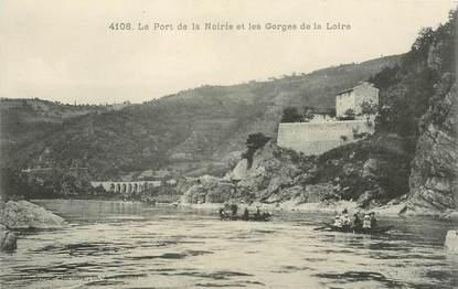 """CPA FRANCE 71 """"Port de la Noirie"""""""