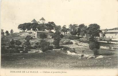 """CPA FRANCE 06 """"Domaine de la Malle"""""""