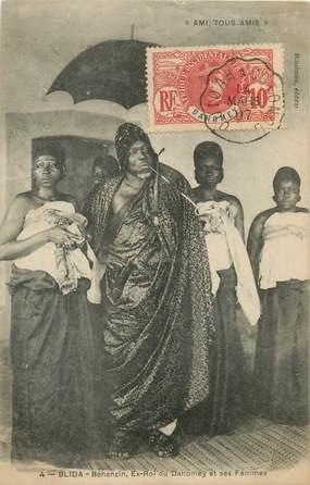 "CPA DAHOMEY ""Ex roi du Dahomey en exil à Blida"""