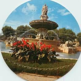 "CPSM FRANCE 13 ""Aix en Provence"" / FORMAT SPECIAL en cercle"