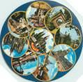 "57 Moselle CPSM FRANCE 57 ""Metz"" / FORMAT SPECIAL en cercle"