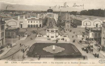 "CPA FRANCE 69 ""Lyon, expo internationale 1914"""