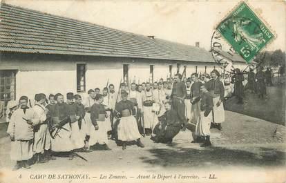 "CPA FRANCE 69 ""Sathonay, les Zouaves"""