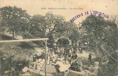 """CPA FRANCE 69 """"Saint Cyr au Mont d'Or, Le Mont Cindre, la Terrasse"""""""