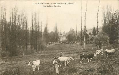 """CPA FRANCE 69 """"Saint Cyr au Mont d'Or, Le Vallon d'Arches"""""""