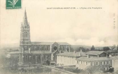 """CPA FRANCE 69 """"Saint Didier au Mont d'Or, Eglise"""""""