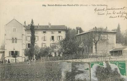 "CPA FRANCE 69 ""Saint Didier au Mont d'Or, Villa Saint Charles"""